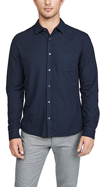 Vince Long Sleeve Button Down Shirt