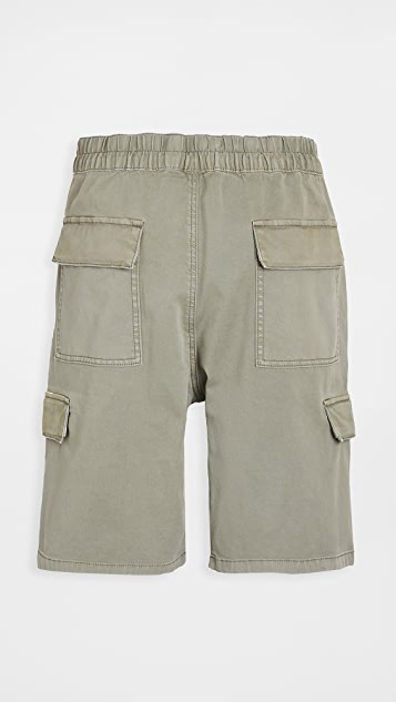Vince Pull On Military Cargo Shorts