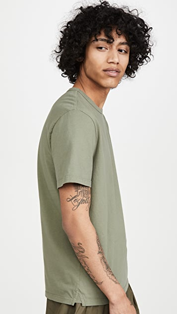 Vince Garment Dyed T-Shirt
