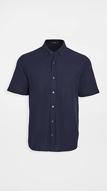 Vince Short Sleeve Button Down Shirt
