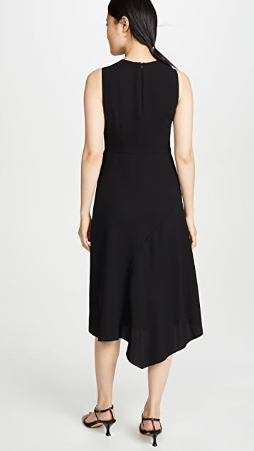 Vince Mixed Panel Dress