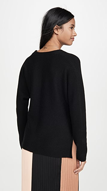 Vince Wool Cashmere Wrap Cardigan