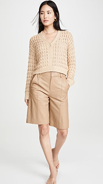 Vince Open Cable Cardigan
