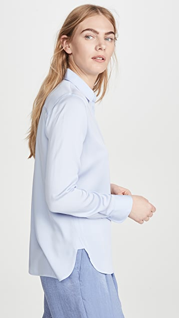 Vince Slim Fitted Blouse