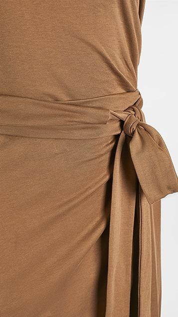 Vince 无袖裹身连衣裙