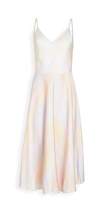 Vince Rainbow Wash Dress - Multi