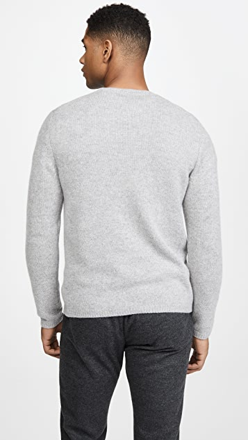 Vince Long Sleeve Plush Cashmere Sweater