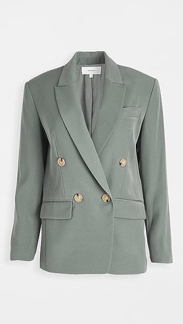 Vince 双排扣西装外套