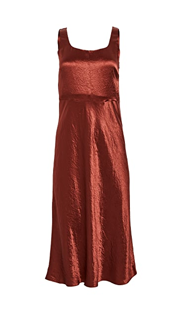 Vince Slim Fitted Slip Dress