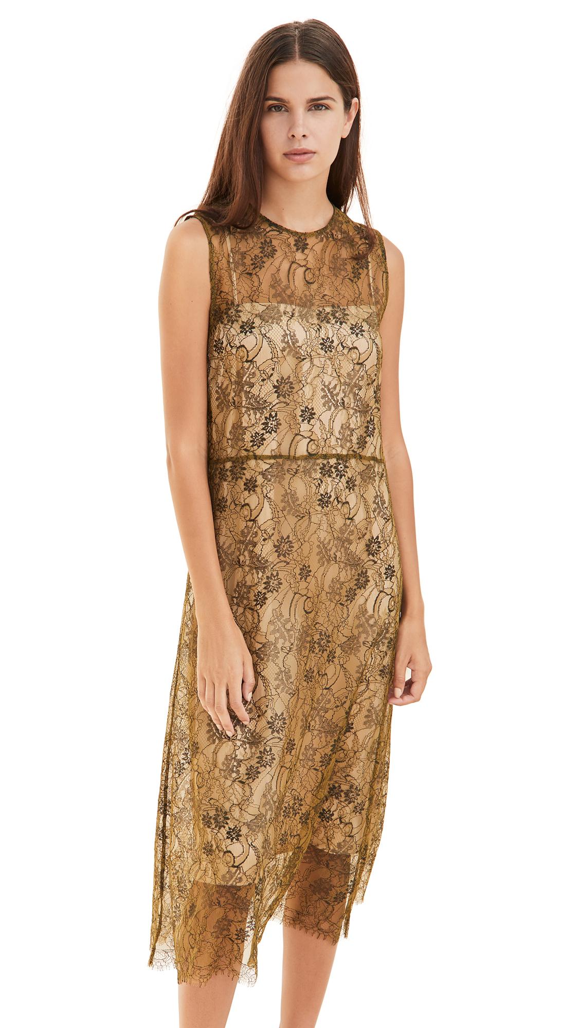 Vince Sleeveless Lace Dress