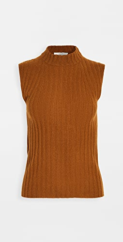 Vince - High Neck Shell Cashmere Sweater