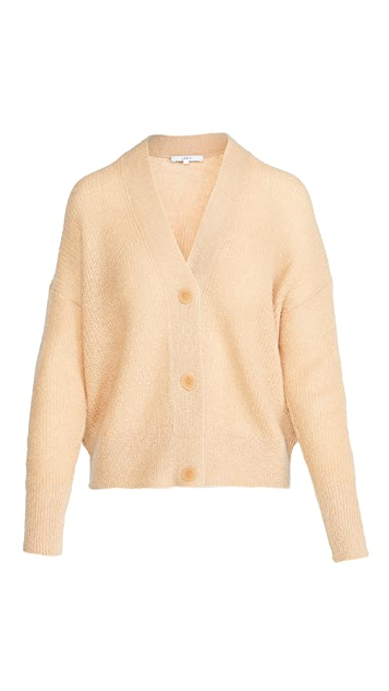 Vince Open Stitch Cardigan