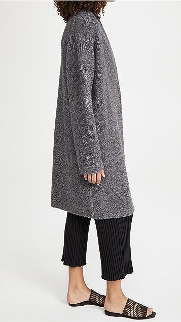 Vince Boucle Cardigan Coat