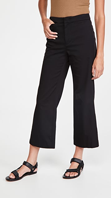 Vince Causal Cropped Flare Pants