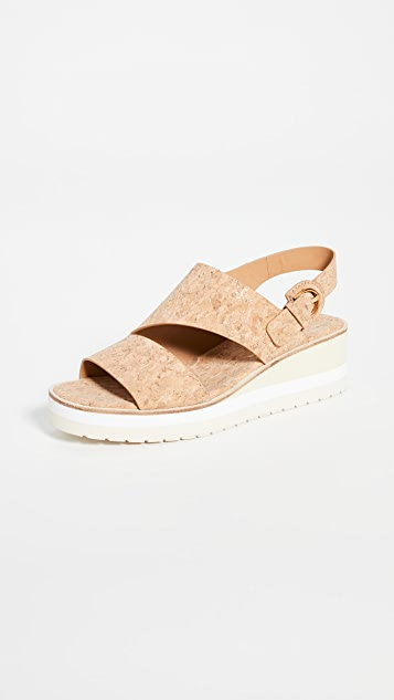 Vince Shelby Wedge Sandals
