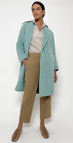 Vince - 双排扣超大大衣