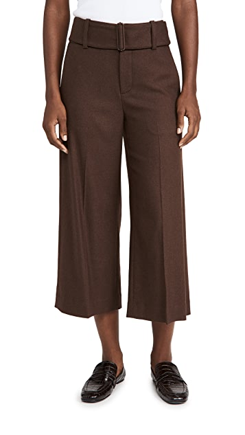 Vince Wide Leg Belted Culottes
