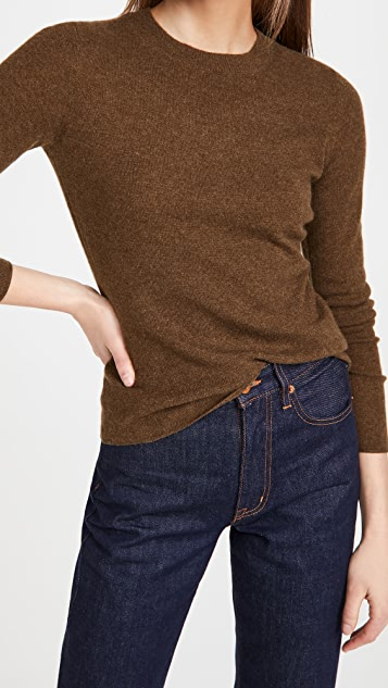 Vince 修身版型圆领毛衣