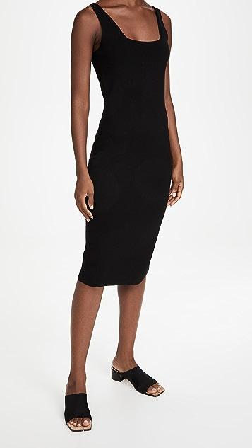 Vince Square Neck Dress