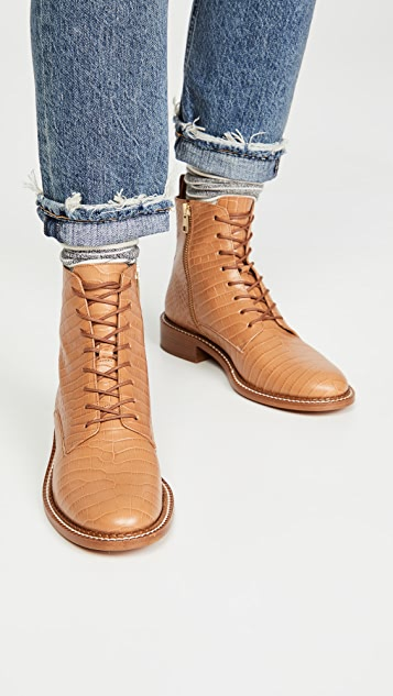 Vince Cabria Lace Up Boots