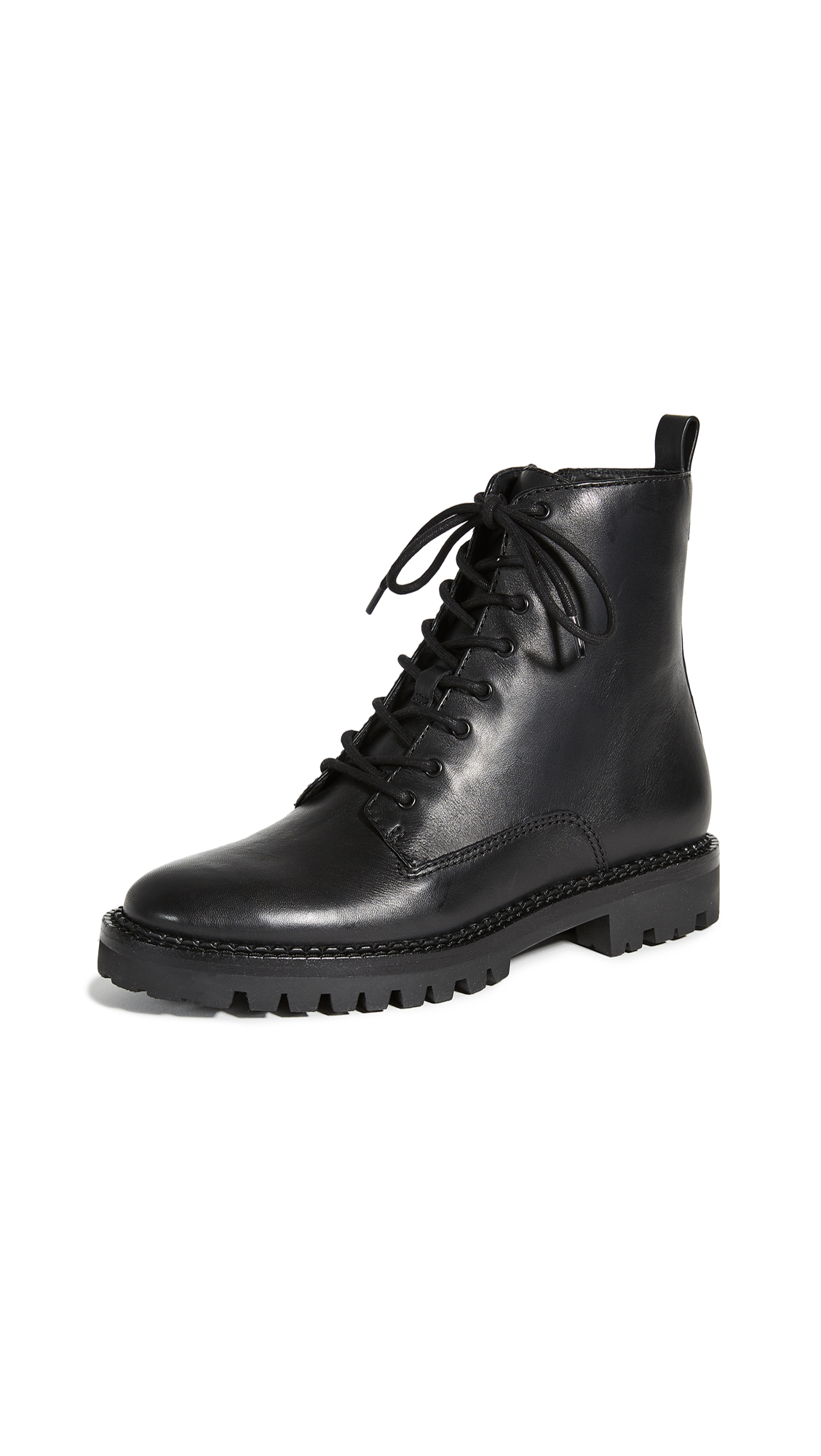 Vince Cabria Lug Sole Boots