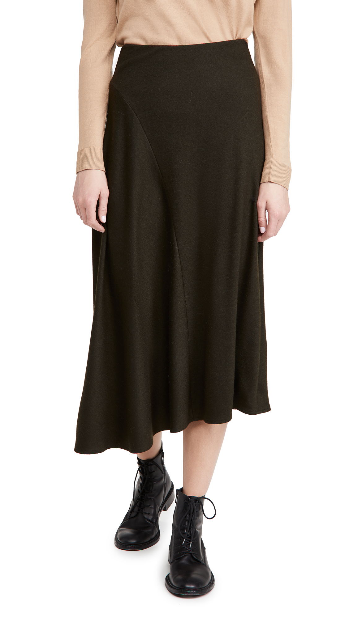 Vince Cozy Asymmetric Skirt