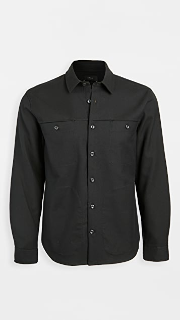 Vince Solid Workwear Jacket