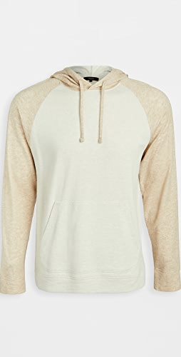 Vince - Long Sleeve Double Knit Hoodie