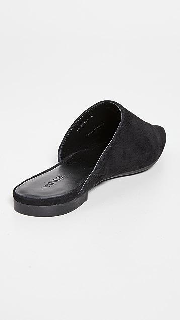 Vince Gena 平底穆勒鞋