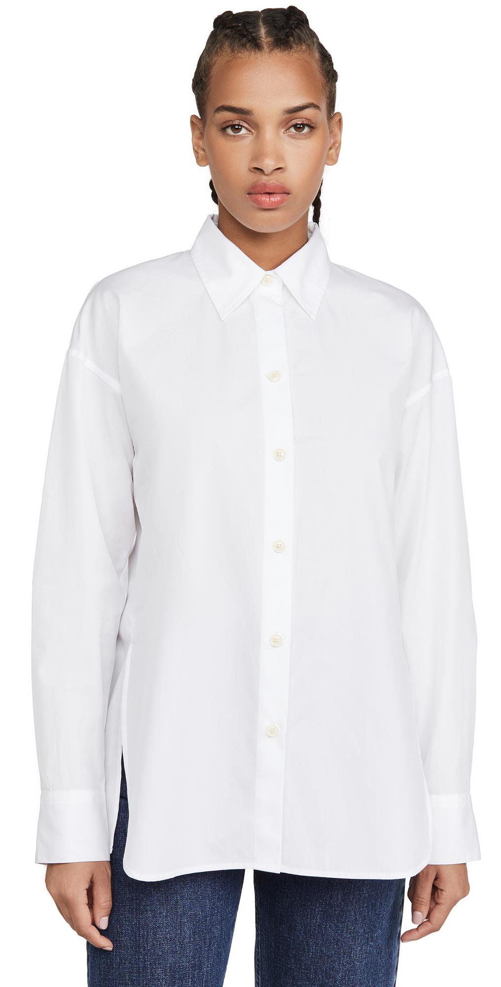 Vince Convertible Button Down Shirt