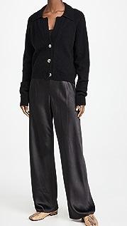 Vince 软缎斜纹裤子