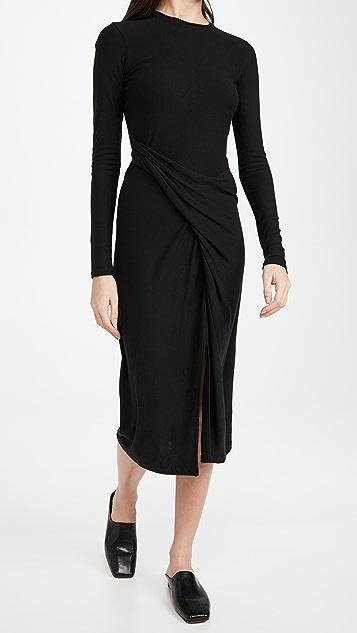 Vince Draped Dress