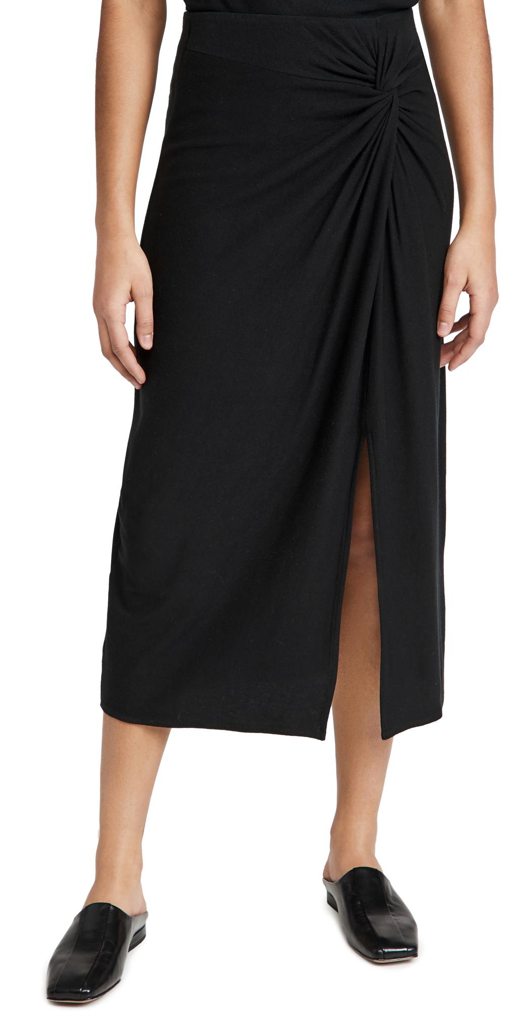 Vince Twist Draped Skirt