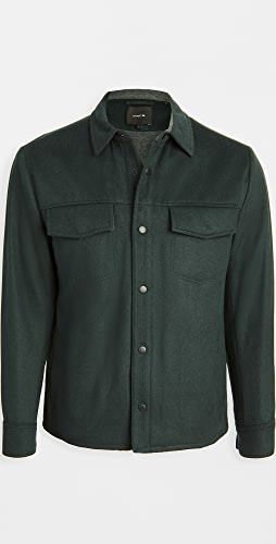 Vince - Long Sleeve Quilted Overshirt