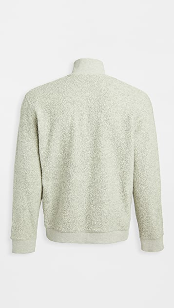Vince Boucle Quarter Zip Sweater