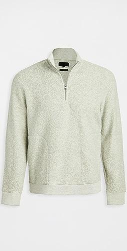 Vince - Boucle Quarter Zip Sweater