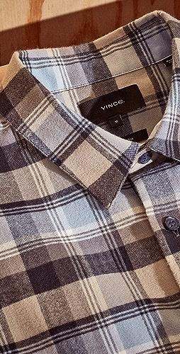 Vince - Soft Plaid Shirt