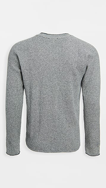 Vince Mouline Thermal Crew Sweater