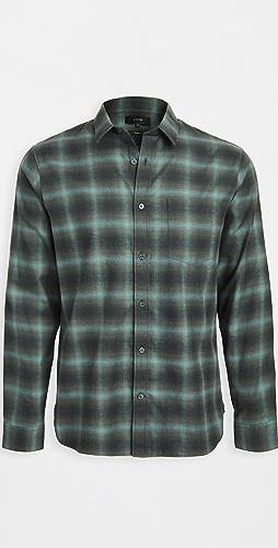 Vince - Multi Shadow Plaid Shirt