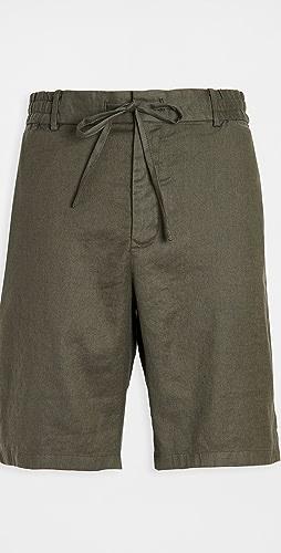 Vince - Linen Blend Shorts