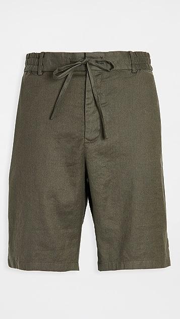 Vince Linen Blend Shorts