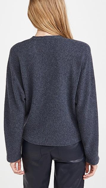 Vince V Neck Dolman Cashmere Sweater