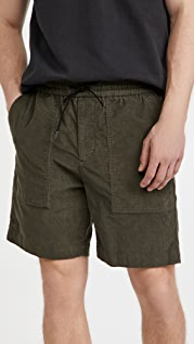 Vince Micro Cord Pull On Shorts