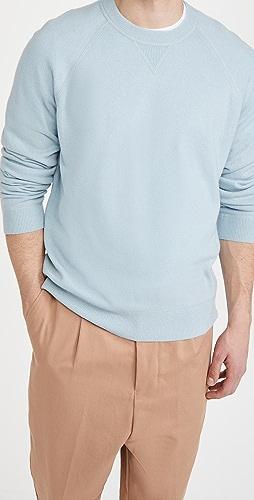 Vince - Raglan Crew Cashmere Sweatshirt