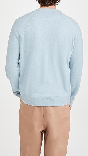 Vince Raglan Crew Cashmere Sweatshirt