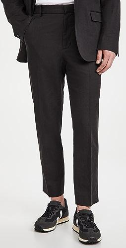 Vince - Linen Blend Modern Trousers