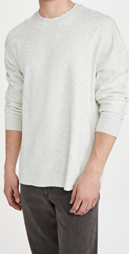 Vince - Thermal Double Knit Crew Sweatshirt