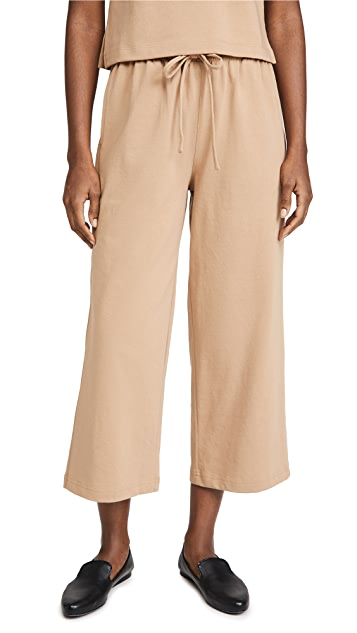 Vince Cropped Wide Leg Pants