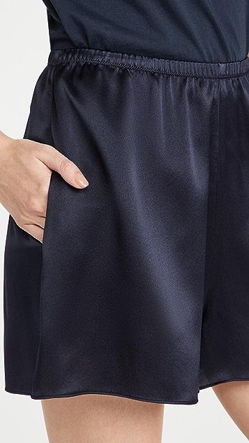 Vince 缎面套穿短裤