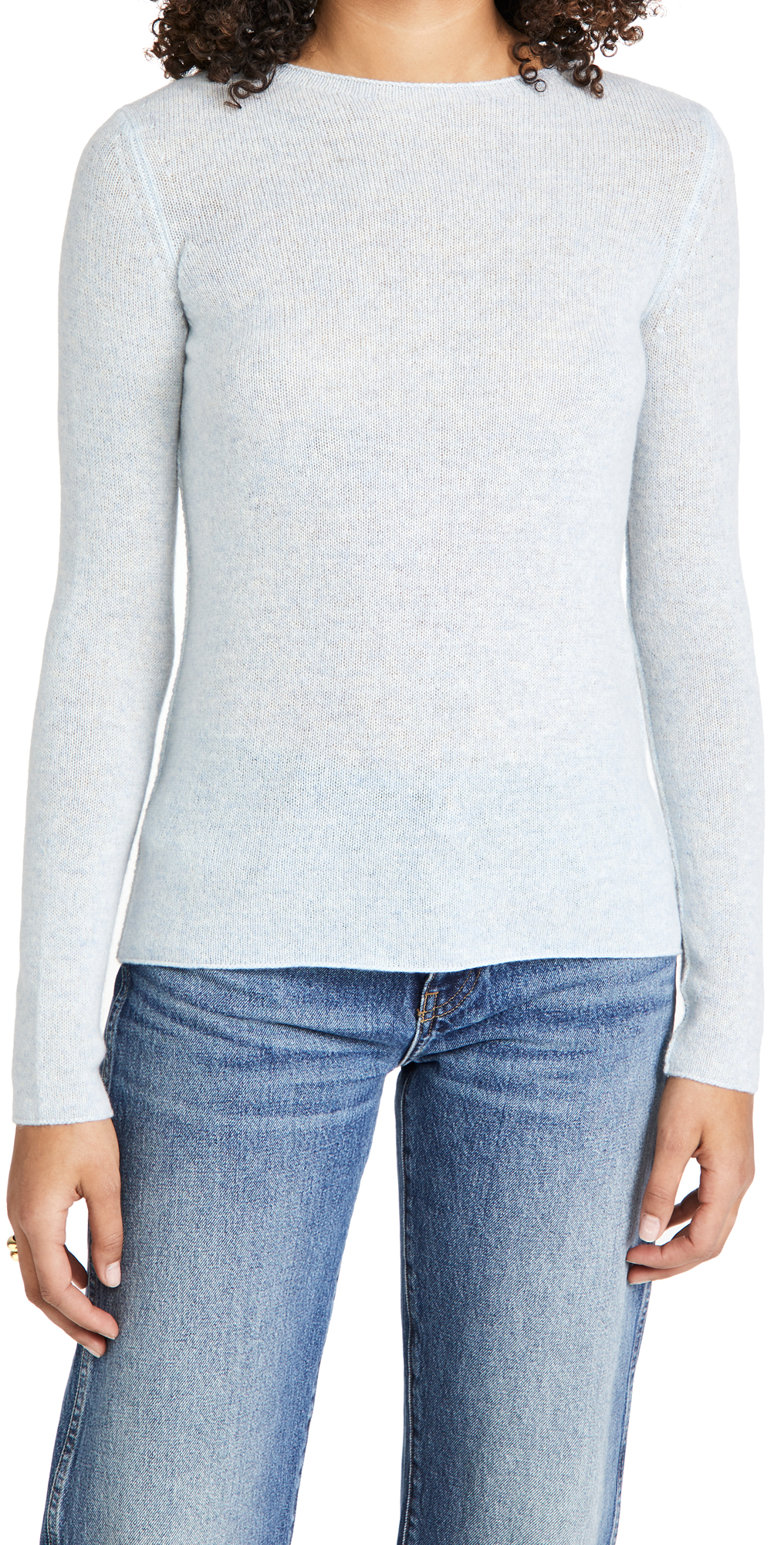 Vince Trimless Cashmere Pullover